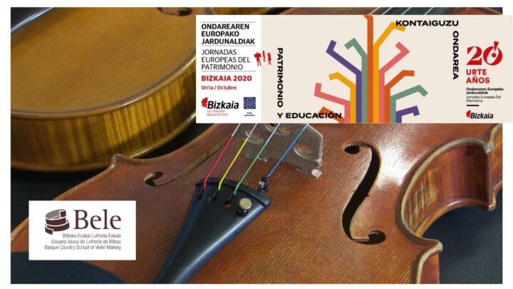 Enracord Luthier Bilbao Patrimonio Educación JEP2020